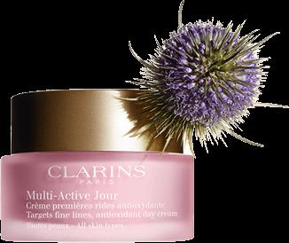 Multi-Active Day Cream mot de första ålderstecknen